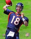 Peyton Manning 2012 Mini Camp Action Photo