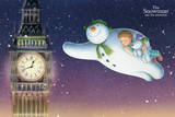 The Snowman and the Snowdog -Big Ben Plakater