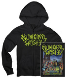 Zip Hoodie: Municipal Waste - Art of Partying Shirt