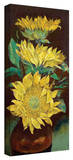 Michael Creese 'Sunflowers' Gallery-Wrapped Canvas Stretched Canvas Print by Michael Creese