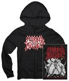 Zip Hoodie: Morbid Angel - Altars of Madness Zip Hoodie
