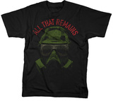 All That Remains - Army Mask T-Shirt