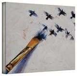 Michael Creese 'Birds' Gallery-Wrapped Canvas Stretched Canvas Print by Michael Creese