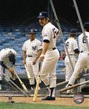 Thurman Munson - Batting Cage Photo