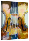 Michael Creese 'Violin' Gallery-Wrapped Canvas Stretched Canvas Print by Michael Creese