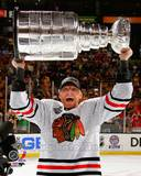 Marian Hossa with the Stanley Cup Game 6 of the 2013 Stanley Cup Finals Photo