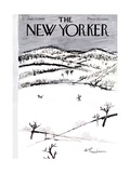 The New Yorker Cover - January 15, 1949 Regular Giclee Print by Abe Birnbaum