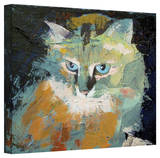 Michael Creese 'Himalayan Cat' Gallery-Wrapped Canvas Stretched Canvas Print by Michael Creese
