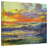 Michael Creese 'California Dreaming' Gallery-Wrapped Canvas Stretched Canvas Print by Michael Creese