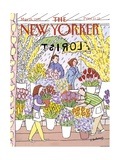 The New Yorker Cover - May 28, 1990 Regular Giclee Print by Devera Ehrenberg
