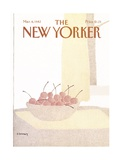 The New Yorker Cover - March 8, 1982 Premium Giclee Print by Devera Ehrenberg