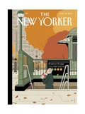 Last Straw - The New Yorker Cover, November 18, 2013 Premium Giclee Print by Adrian Tomine