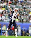 Tom Brady - Super Bowl XXXIX - Throwing Photo