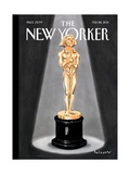 A Moment of Triumph - The New Yorker Cover, February 28, 2011 Regular Giclee Print by Ian Falconer
