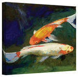 Michael Creese 'Feng Shui Koi Fish' Gallery-Wrapped Canvas Gallery Wrapped Canvas by Michael Creese