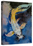 Michael Creese 'Dragon Koi' Gallery-Wrapped Canvas Stretched Canvas Print by Michael Creese