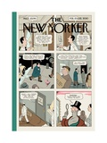 Adaption - The New Yorker Cover, February 15, 2010 Regular Giclee Print by Adrian Tomine