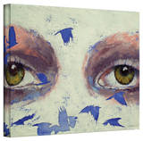 Michael Creese 'The Crow is My Only Friend' Gallery-Wrapped Canvas Stretched Canvas Print by Michael Creese
