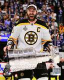 Zdeno Chara with the Stanley Cup Game 7 of the 2011 NHL Stanley Cup Finals(42) Photo
