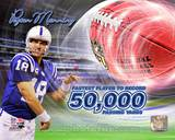 Peyton Manning 50,000 Yards Photo