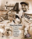 Lou Gehrig, légendes du jeu, ©Photofile Photographie