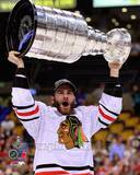 Brandon Saad with the Stanley Cup Game 6 of the 2013 Stanley Cup Finals Photo