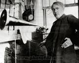 Thomas Edison 1st Phonograph Photo