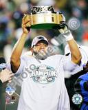 Donovan McNabb - 2004 NFC Championship Trophy Photo