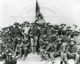 Historical Theodore Roosevelt and The Rough Riders Photo
