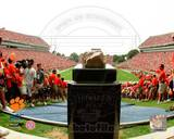 Howard's Rock at Memorial Stadium Clemson University 2004 Photo