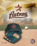 Houston Astros - '05 Logo / Cap and Glove Photo