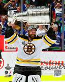 Tim Thomas with the Stanley Cup Game 7 of the 2011 NHL Stanley Cup Finals(43) Photo