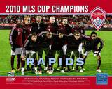 The Colorado Rapids 2010 MLS Cup Champions Team Photo with Overlay Photo