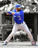 Jose Bautista 2012 Spotlight Action Photo