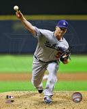 Chad Billingsley 2012 Action Photo