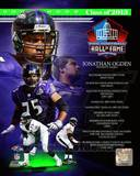 Jonathan Ogden NFL Hall Of Fame Class Of 2013 Photo