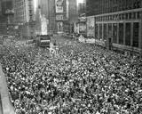 Times Square on VJ Day, 1945 Photo