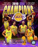 Los Angeles Lakers 2009-10 NBA Champions Composite Photo