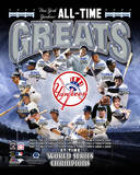 New York Yankees All Time Greats Composite Photographie