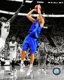 Dirk Nowitzki Game 1 of the 2011 NBA Finals Spotlight Action Photo