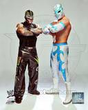 Rey Mysterio & Sin Cara 2012 Posed Photo