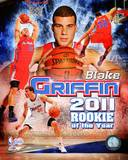 Los Angeles Clippers - Blake Griffin 2010-11 NBA Rookie of the Year Composite Photo