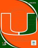 University of Miami Hurricanes Team Logo Photo