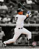 Derek Jeter 2012 Spotlight Action Photo