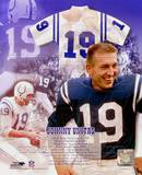 Johnny Unitas - Légendes du base-ball - Image composite - ©Photofile Photographie