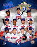 Texas Rangers 2011 American League Champions Composite Photo