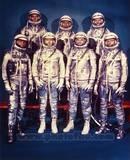 Historical The 7 Mercury Astronauts, 1959 Photo