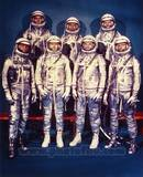 The 7 Mercury Astronauts, 1959 Photo