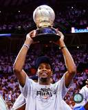 Kevin Durant with the 2012 NBA Western Conference Finals Champions trophy Game Six Photo