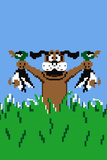 Duck Hunting Dog Video Game Poster Prints